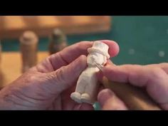 Step by Step How To Carve a Little Person Step 10 to 12 - YouTube