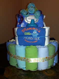 monsters inc. baby shower | Baby Xander's nursery is Monsters Inc themed and one of my guest ...