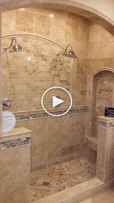 Unique Bathroom Tiles Ideas (Show Your Personality!) - /design Unique Bathroom Tiles Ideas (Show Your Personality! Rustic Bathroom Designs, Rustic Bathrooms, Dream Bathrooms, Bathroom Interior Design, Marble Bathrooms, Bathroom Mirrors, Beautiful Bathrooms, Hotel Bathrooms, Bathrooms Decor