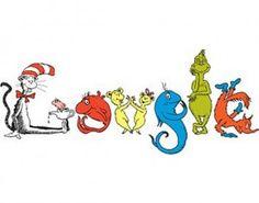 Cat in the Hat Google doodle