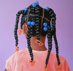 What is your hair routine with your kiddos the night before school? We love this hair art and inspo by Nothing says childhood like braids & barrettes 💜 In case you needed a reminder, our hair is our crown 👑 Artist: Black Girl Art, Black Women Art, Black Kids, Black Girl Magic, Art Girl, Twists, Black Art Painting, Acrylic Paintings, Afro Art