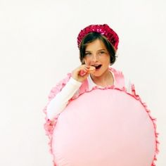 DIY French macaron costume for Halloween!