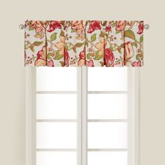 This valance set features a beautiful floral print with bright colors that add touch of spring to any room in your home. The valances are machine washable for easy cleaning and bring a stylish accent to your home decor.
