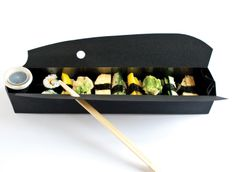 packaging | UQAM | Sylvain Allard - Amazing prototype of packaging for sushi.