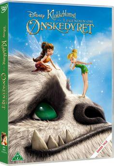 klokkeblomst og legenden om ønskedyret - DVD