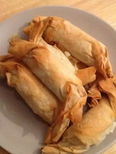 real recipe reviewer: Greek Spinach Pies (Spanakopita)