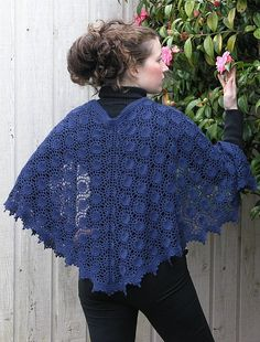 Moonlight Sonata by Shui Kuen Kozinski. This unique crescent shaped shawl would be lovely knit in our elann Soft Embrace 4-Ply, 100% Superwash Australian Wool. http://international.elann.com/product/elann-soft-embrace-4-ply-yarn-10-ball-bag/