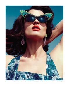 Crystal Renn for Vogue Latin America