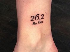would get something like this WHEN I complete my first marathon :)