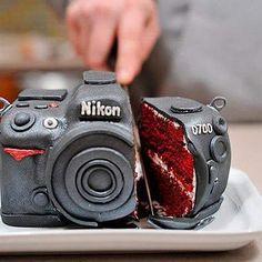 Dette var ei stilig kake @unnipooz! God helg alle sammen :) #kake #camera #nikon #sjokolade #baking #slikkepott