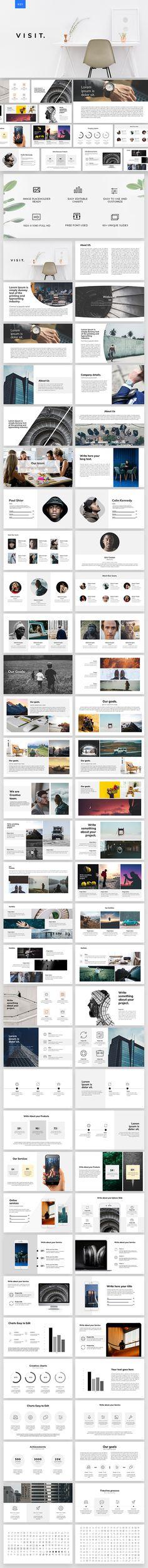 110 Best Presentation Images On Pinterest Keynote Template