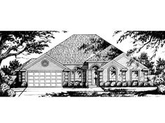 Cape Cod House Plan with 2532 Square Feet and 4 Bedrooms(s) from Dream Home Source   House Plan Code DHSW64854