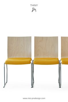 Hochwertige Design Sitzmöbel für Festsäle, Innenarchitektur  Gastronomie, Bildungs- und Kulturobjekte. Wir sind auf stapelbare Stühle  spezialisiert und liefern Bankettstühle aus Holz und Metall. Telefonische  Anfrage unter +43 699 1599 0977    #sitzmoebel, #bankettstuehle #RiesProDesign Form Design, Esstisch Design, Trends, Interior Design, Chair, Furniture, Home Decor, Beige, Fine Dining