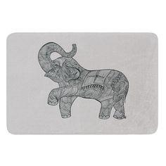 Found it at Wayfair - Elephant by Belinda Gillies Bath Mat