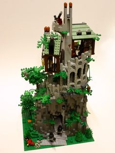 Patrick has built a very nifty Necromancer's Tower for the Lego Castle Contest currently running on Classic-Castle. Don't tell anyone, but I think this will be the winner in the Tower category! Related