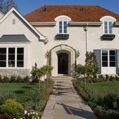 Stucco Archway Design Ideas, Pictures, Remodel, and Decor