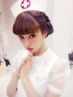 中村里砂 kawaii nurse