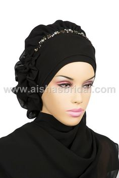 Ready To Wear Hijab  Code HT0142 by HAZIRTURBAN on Etsy, $31.00