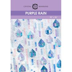 Purple Rain PDF Quilt Pattern