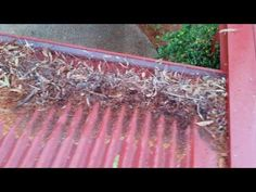 The owners had been having trouble over many years with leaves from the gum trees blocking gutters and valleys. They contracted another company to install gu.