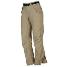 I know the zip-off pants are dorky and couldn't care less. They're great for hiking & I want a pair :-)  Size 10. Gotta be comfy.