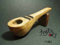 Collectors edition spoon type smoking pipe by AngelsArtOriginal, $74.99