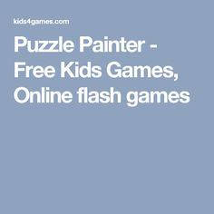 Puzzle Painter - Free Kids Games, Online flash games