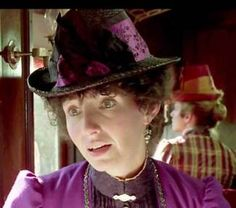 Mary Steenburgen as Clara in Back to the Future III. Screen caps of millinery