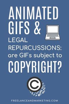 Animated GIFs are fun way to add personality to your blog posts or social media. However, remember that animated gifs are subject to copyright laws similar to the way images and videos are subject to copyright laws. be careful when using GIFs, don't use famous people's faces and try to stay away from sports clips. #gif #animatedgif #gifs #emailgifs #memes #meme #blogposts #legalblogging #bloglegally #legaltips Legal Business, Small Business Accounting, Content Marketing, Affiliate Marketing, Social Media Marketing, Sports Clips, Make A Case, How To Protect Yourself, Need To Know
