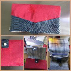 Compagnon Complice cousu par Poz Couture - Tissu(s) utilisé(s) : Récup coton, tissu ameublement et simili - Patron Sacôtin : Complice