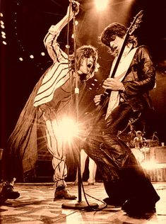 Mick Jagger and Keith Richards, The Rolling Stones