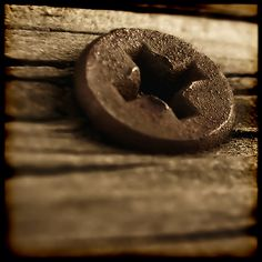 Another view of the same old screw... by blogrodent, via Flickr