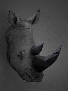 cosascool: trigonal animal artworks by Kaan Bagci