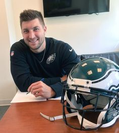 Tim is officially an Eagle! #FlyEaglesFly