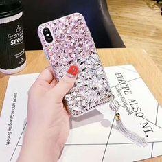luxury 3D DIY diamond gem case for iphone XS MAX XR X 7 7plus 8 8plus – Touchy Style