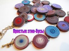poly clay extruder necklace video
