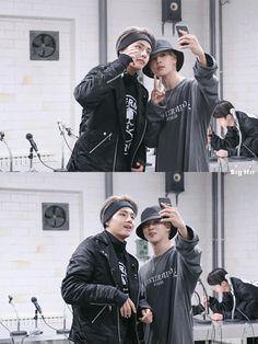 V and Jimin ❤ BTS X STARCAST! BTS 'MIC Drop' MV shooting~ #BTS #방탄소년단