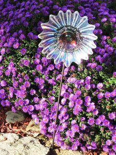 Garden Glass Flower Suncatcher