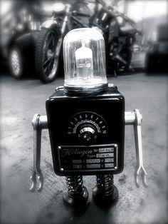 Veo robots por todas partes, Pitarque Robots en Etoile No.5 www.etoileno5.com