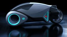 Flynn's ride by GrahamTG on DeviantArt Concept Motorcycles, Cool Motorcycles, Futuristic Technology, Futuristic Cars, Tron Art, Design Transport, Tron Light Cycle, Tron Bike, Flying Vehicles
