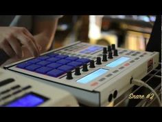 Tommy Tench Making a Beat on Custom Maschine from Start to Finish