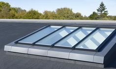 Verrières modulaires VELUX pour l'habitat en toit plat | VELUX