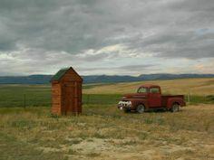 Near Hobson, Montana