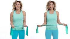 Att dagligen göra dessa enkla övningar kommer att ge dig starkare och friskare axlar. Träna axlarna med Leila Söderholms effektiva övning med gummiband.