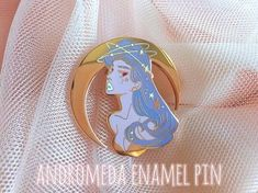 Andromeda Enamel Pin #patches