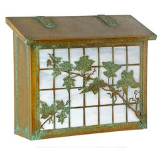 Americas Finest Lighting Ivy on Grid Large Mailbox - AF-363-NV-GI