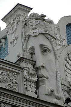 Jugendstil, Riga, La
