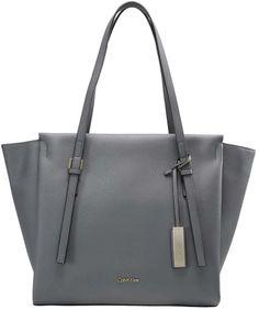 353e7995980 Calvin Klein M4RISSA Cabas steel grey Calvin Klein Taschen, Grey Purses,  Cute Purses,