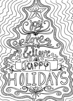 Coloring Pages For Adults Only With Printable Christmas