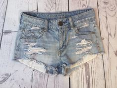 American eagle outfitters summer denim shorts ☀️